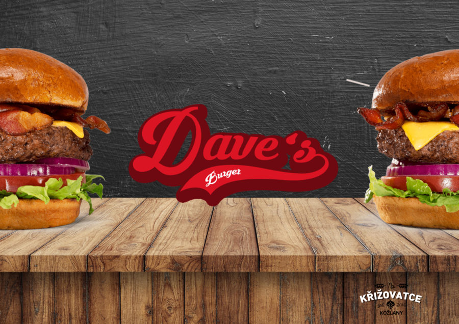 Dave's Burgers s vylepšenou Dave omáčkou