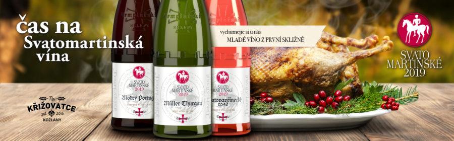 Svatomartinské víno ročník 2019
